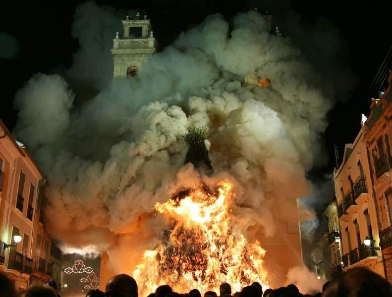 Foto de les festes de Sant Antoni 2007 - per Ximo Pérez www.coneixercanals.com