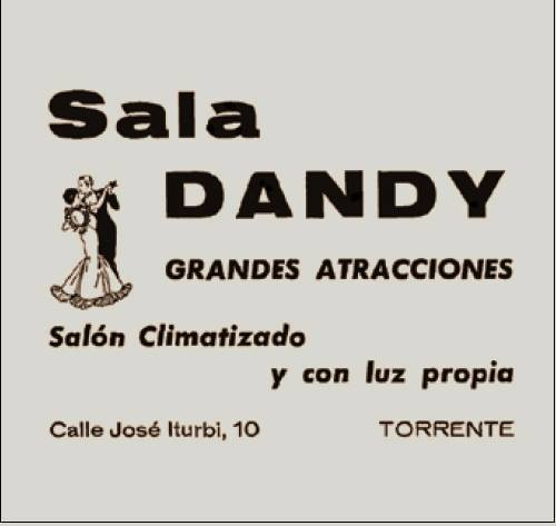 Flyer de Sala Dandy.