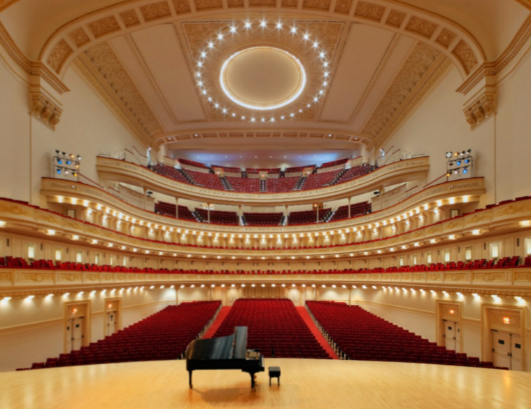 Carnegie Hall, by Alex R. Travers Fuente: questmag.com
