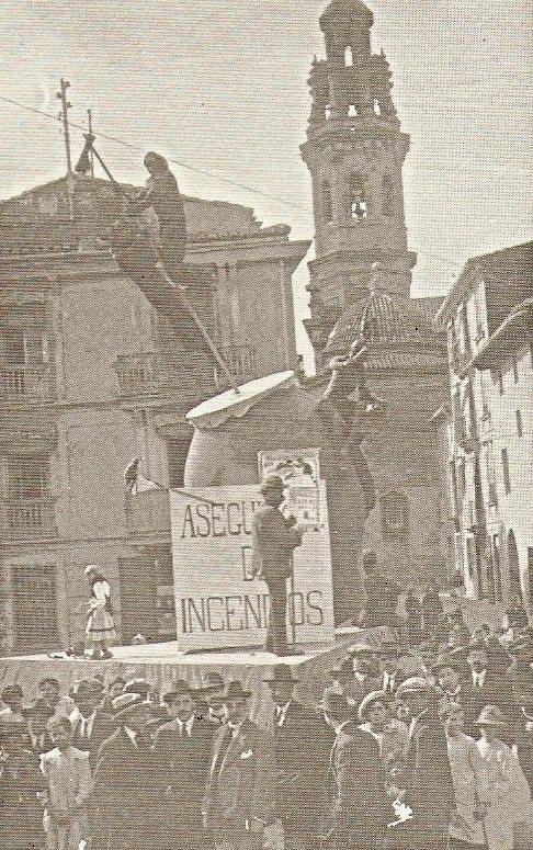 Falla Plaza Contraste, 1916.