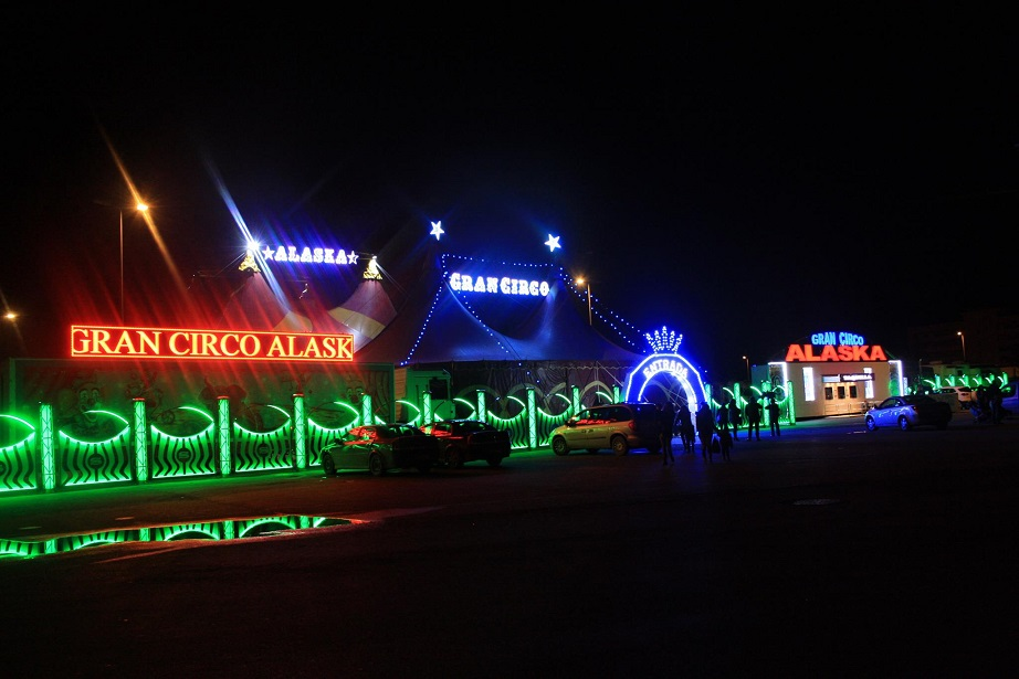 Gran Circo Alaska Valencia Navidad 2016