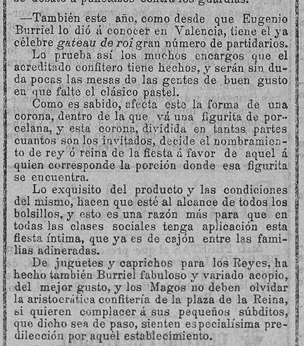 Las Provincias, 5 de enero de 1902.