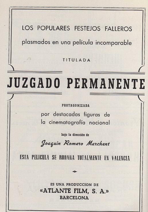 Juzgado permanente (imagen cedida por Julio Cob).