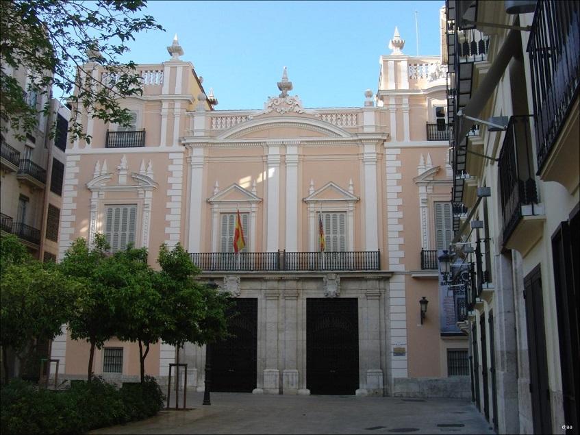 Palacio del Marqués de Campo  (Museu de la Ciutat) Pl.Arzobispo, 2 (22/12/2016) Fuente: jdiezarnal.com