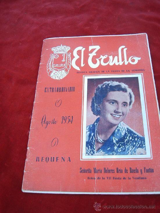 """Ejemplar de la revista """"El Trullo"""" de 1954. Fuente: Todocolección."""