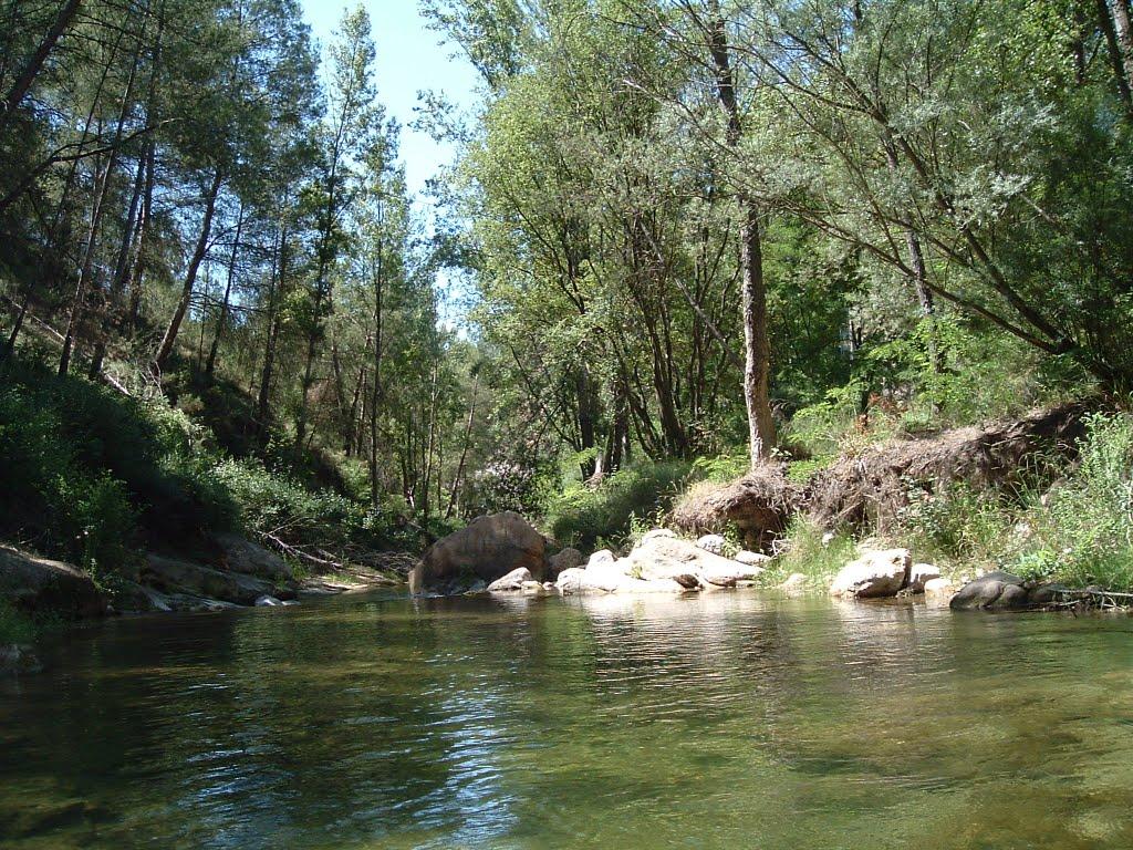 Rio Villahermosa, a su paso por Cedramán. Fuente: www.panoramio.com