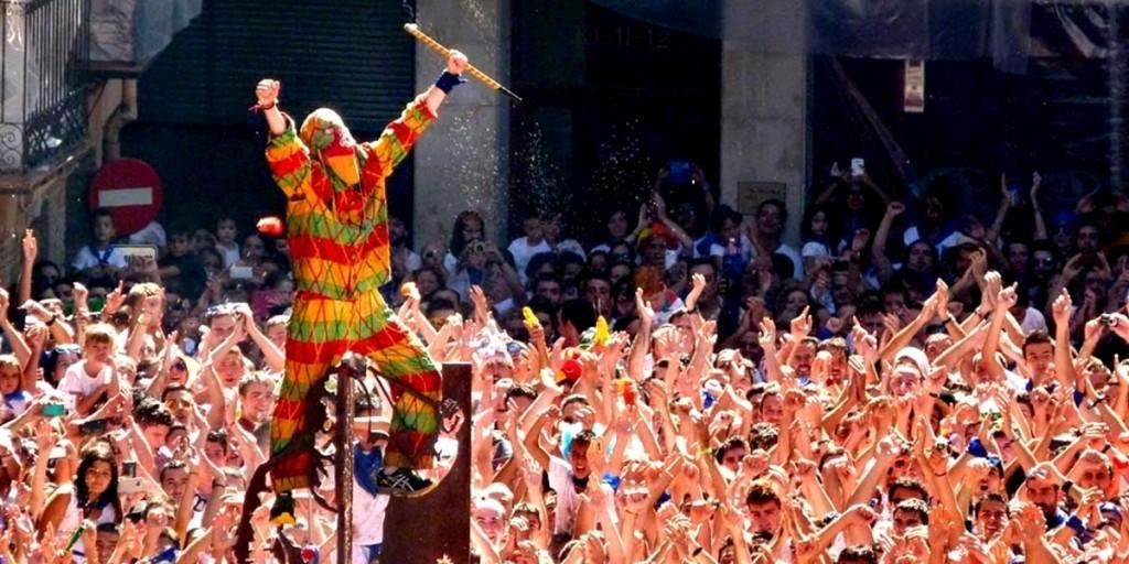 Fiesta del Cipotegato o Tomatada de Tarazona.