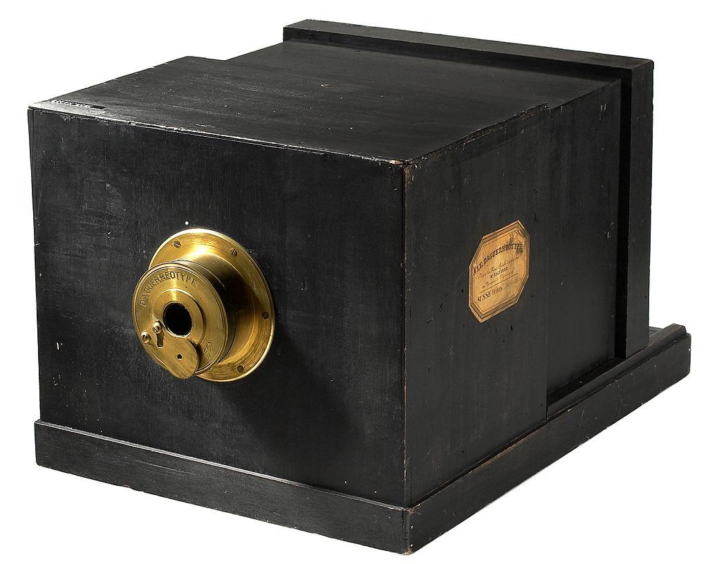 Daguerrotipo. Fuente: Wikipedia.