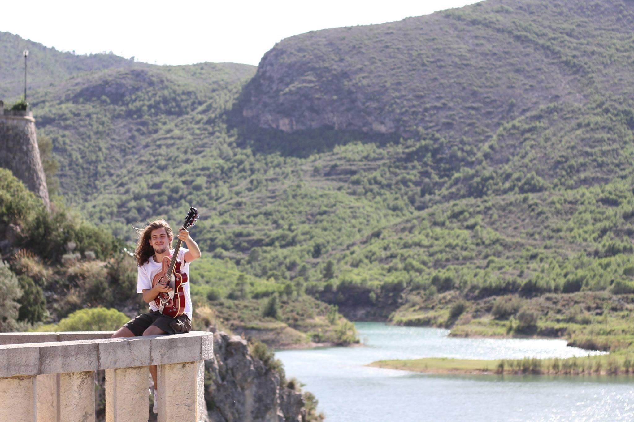 Borja Catanesi cerca de Chulilla.