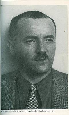 Alexander M. Orlov, (pseudónimo). Verdadero nombre: Lev Nikolsky. Fuente wikipedia y wikimedia.