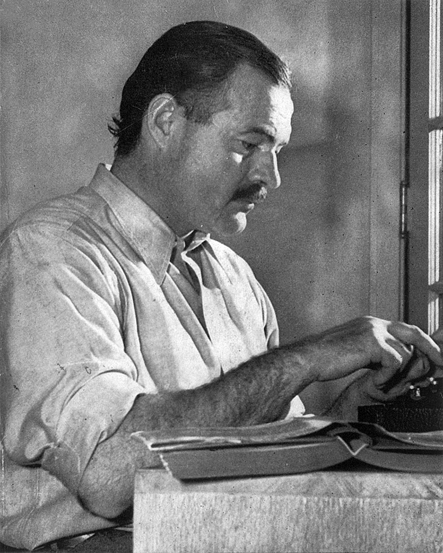 Ernest Hemingway. Fuente: Wikipedia.