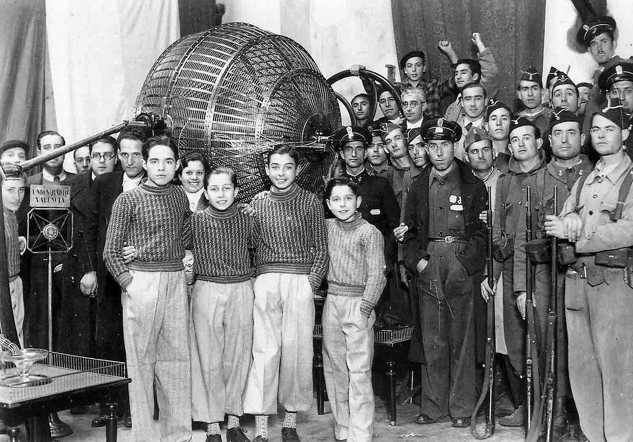 22-12-1936  premio gordo al nº 05.287