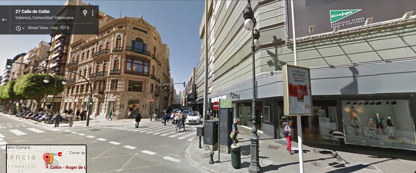 Actualidad. Fuente: Google Maps