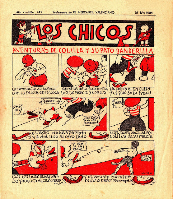 historia del tebeo valenciano los chicos