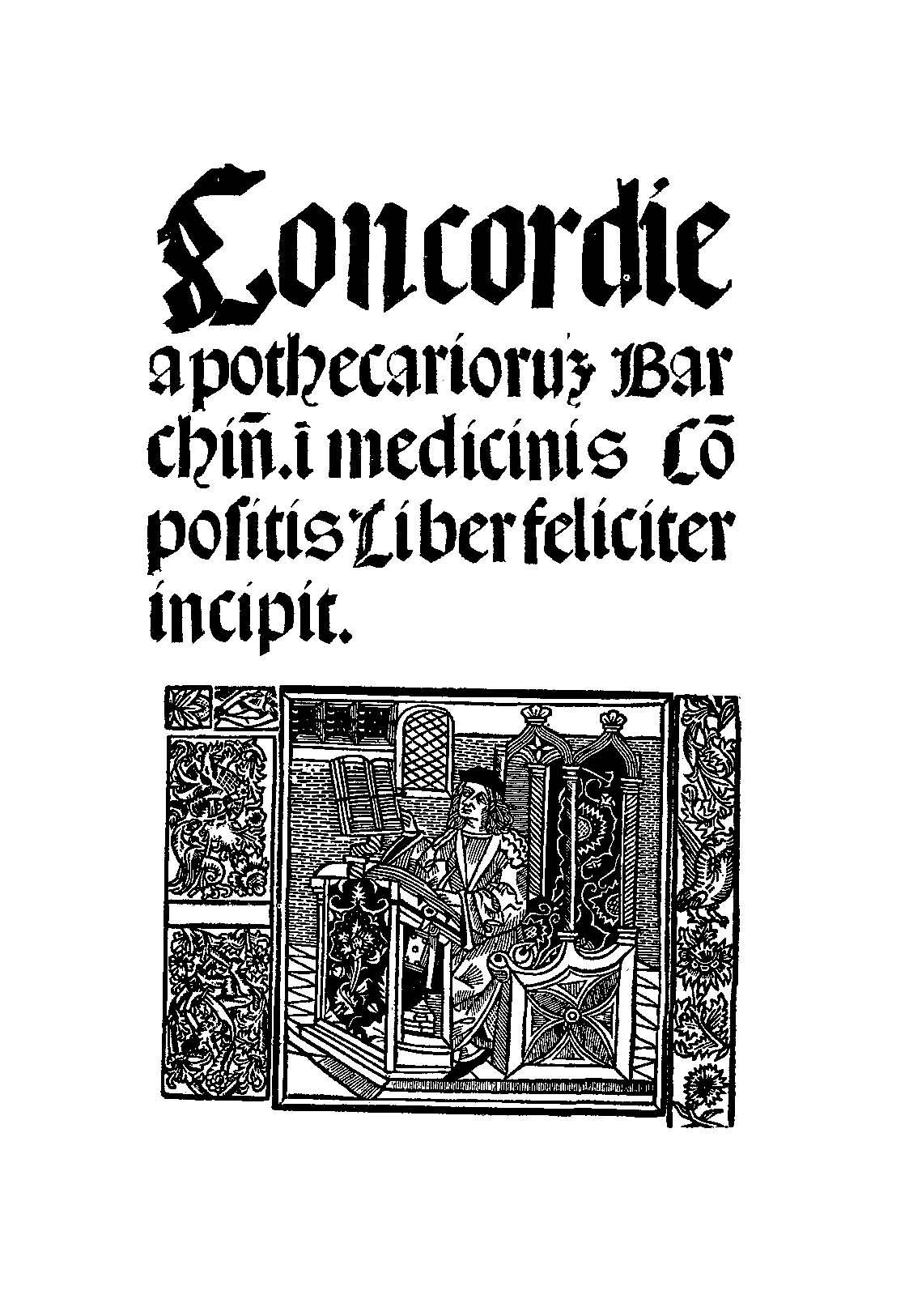 """El """"supuesto"""" ejemplar de Barcelona datado de 1511 en """"latín"""", carente apenas de contenido y sin fechar."""