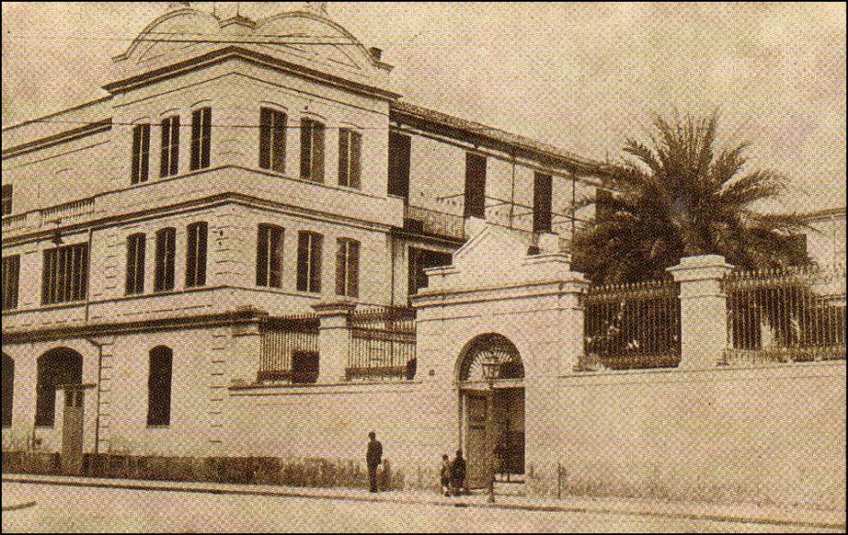 Antiguo emplazamiento en Roger de Lauria. Fotografía de jdiezarnal.com
