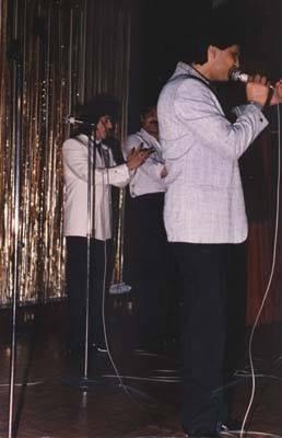 Concierto de los Chichos en el año 1986 en la Sala El Bony.