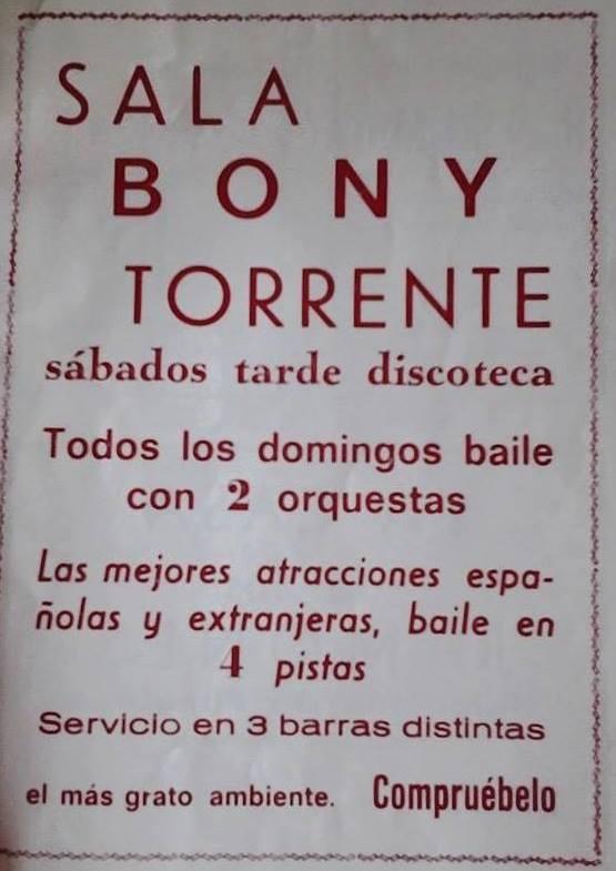 Flyer de El Bony