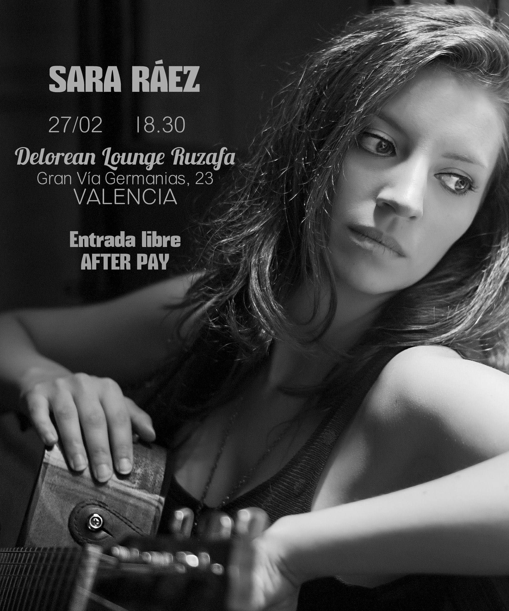 Próximo concierto Sara Ráez.