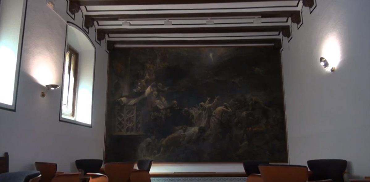 Sala de Espera del Vestíbulo de las Escuelas Pías en Valencia