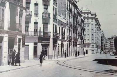 Foto antigua del horno. Fuente: http://www.vicenteraimundo.es/