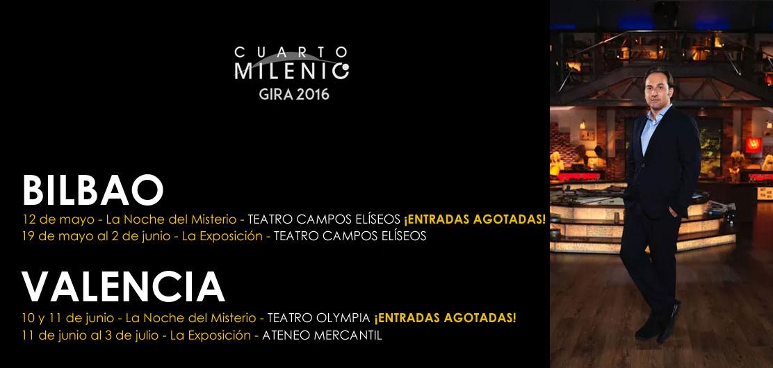 Cuarto Milenio: La Exposición, y Las Noches del Misterio ...