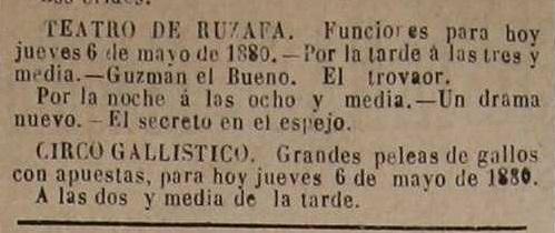 El Católico, periódico monárquico de Valencia (06- 05-1880).