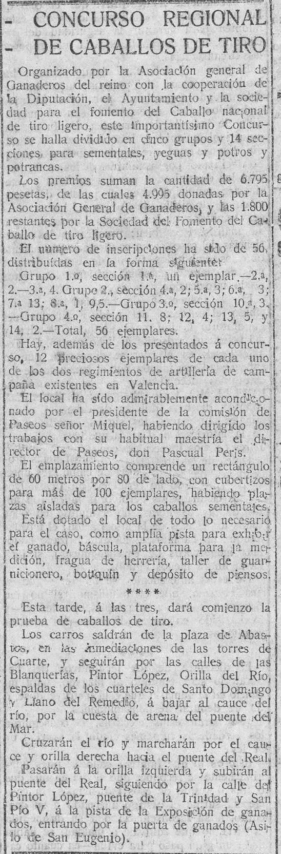 El Pueblo : diario republicano de Valencia - Año XXIII Número 8972 - 1916 octubre 28 (28/10/1916)'