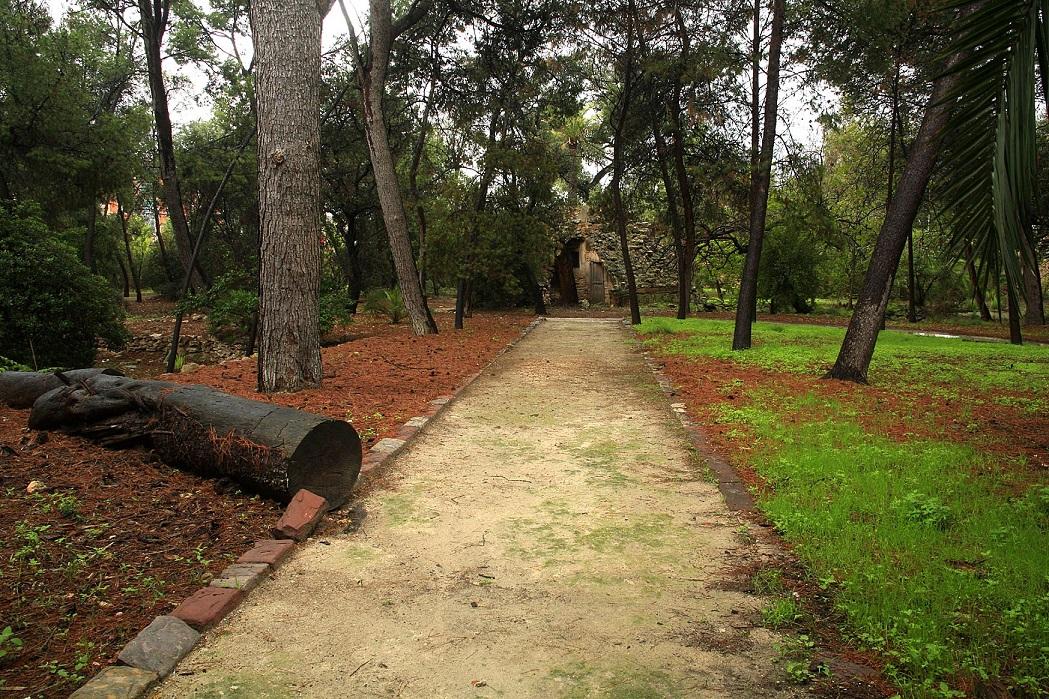 Jardín de la Dehesa.