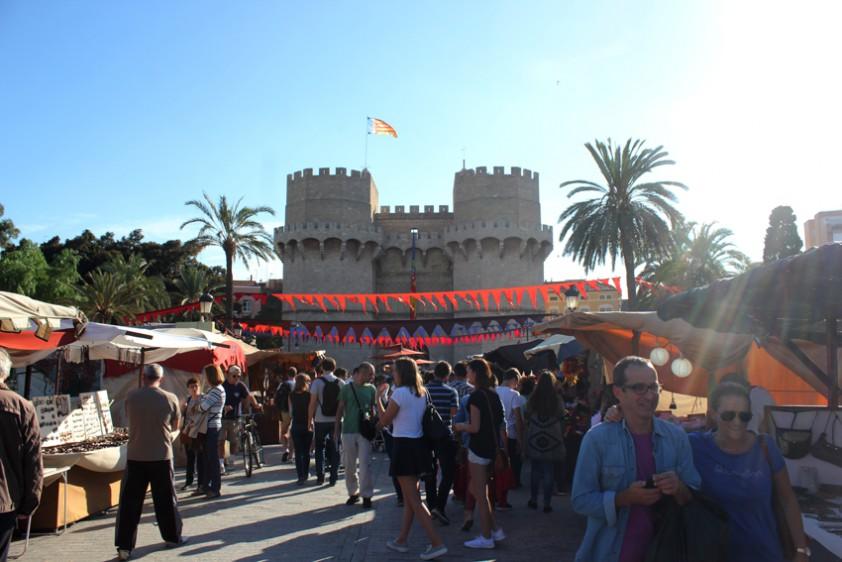 Fotografía del Mercado Medieval 9 de Octubre de 2015  By Javier Furió para noticiascv.com