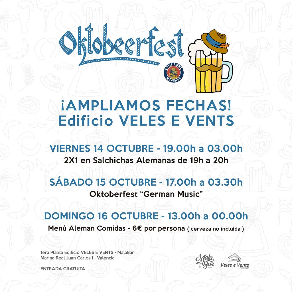 Oktobeerfest Valencia 2016 fechas y horarios