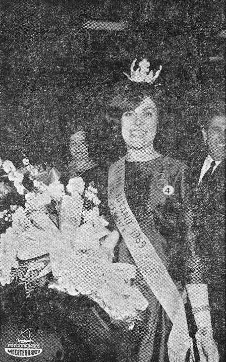 María Antonia Casademunt de Luis, Reina Butano 1969 para Levante. Mediterráneo, Prensa y Radio del Movimiento (3/04/1969).