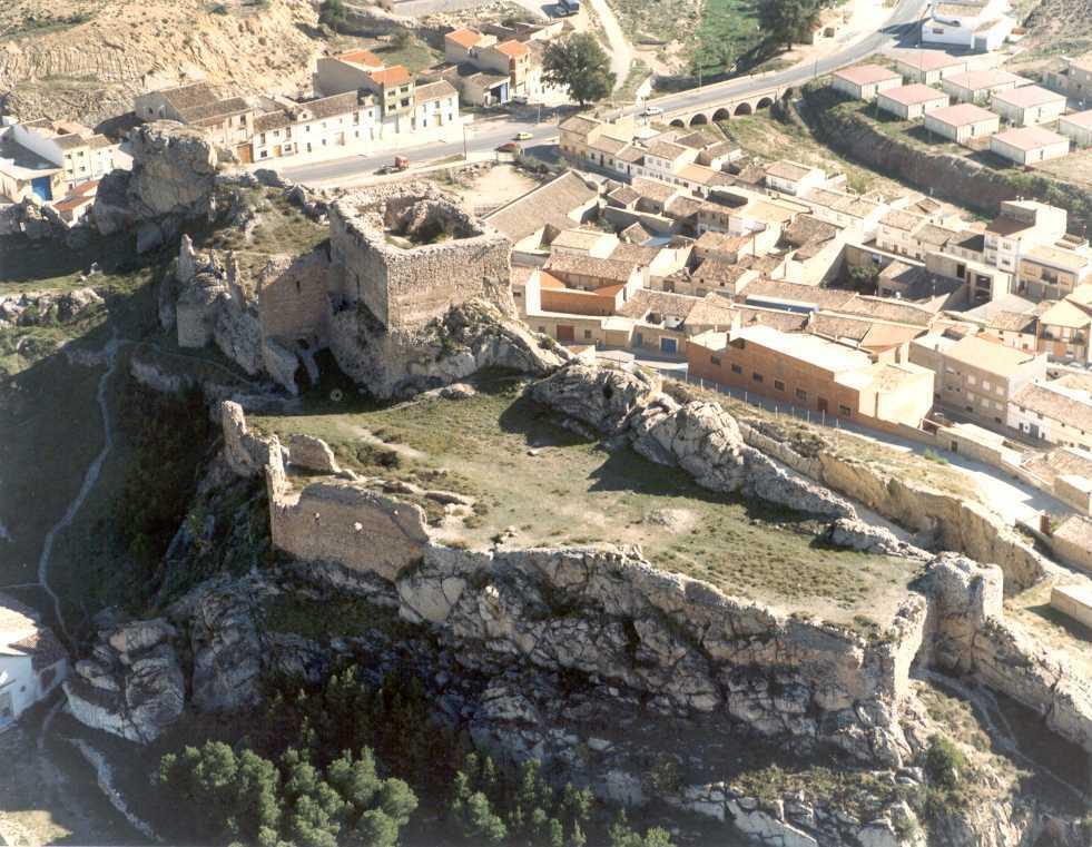 Castillo de Ayora en la actualidad. Fuente: cult.gva.es