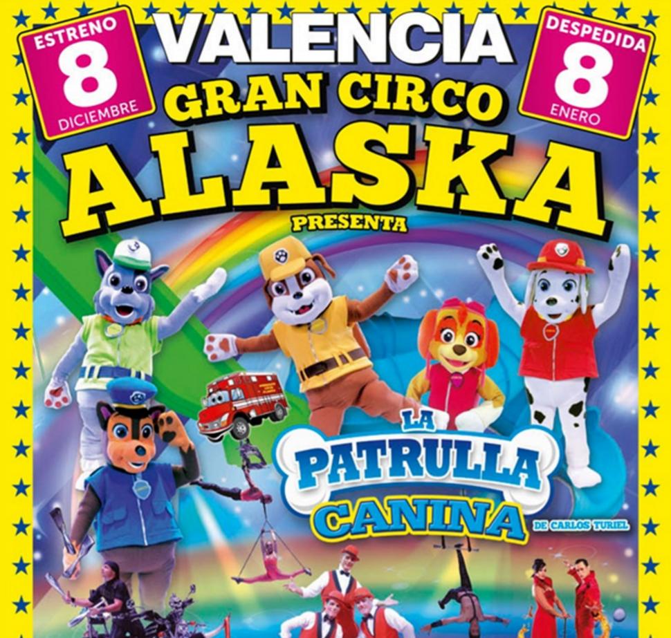 Circo Alaska Valencia 2016