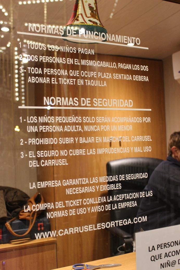Normasfuncionamiento Tiovivo Ayuntamiento deValencia