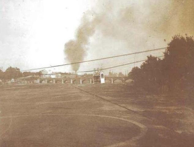 El tranvía aéreo de Valencia, 1909