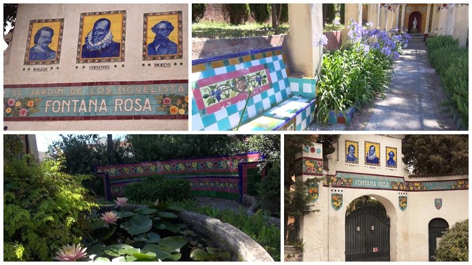 Jardín Fontana Rosa, Menton