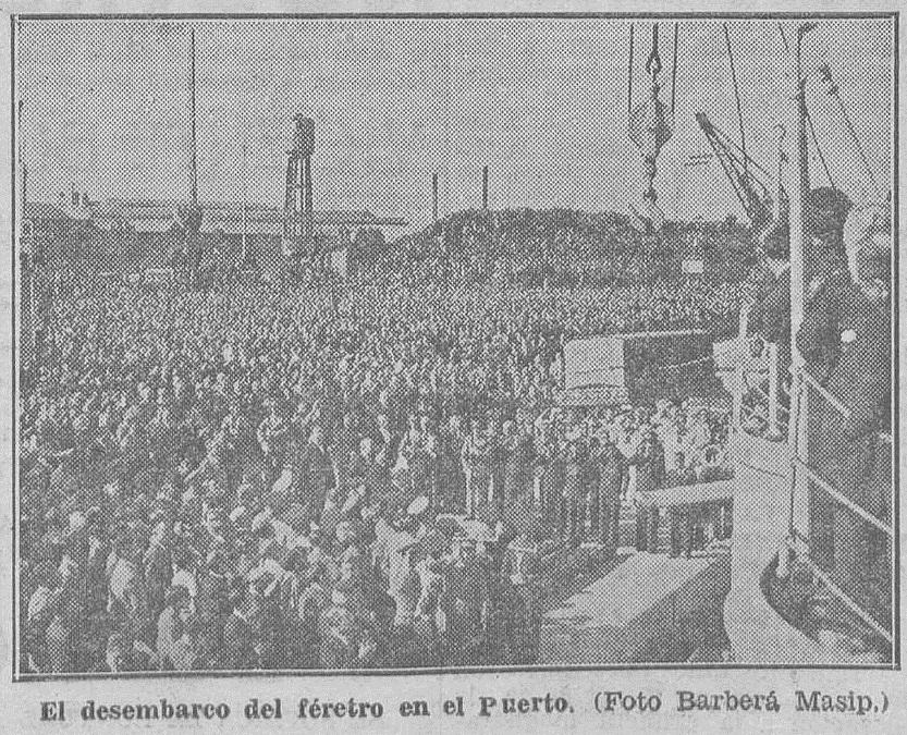 Las Provincias (31/10/1933), en referencia a los hechos del 29 de octubre.