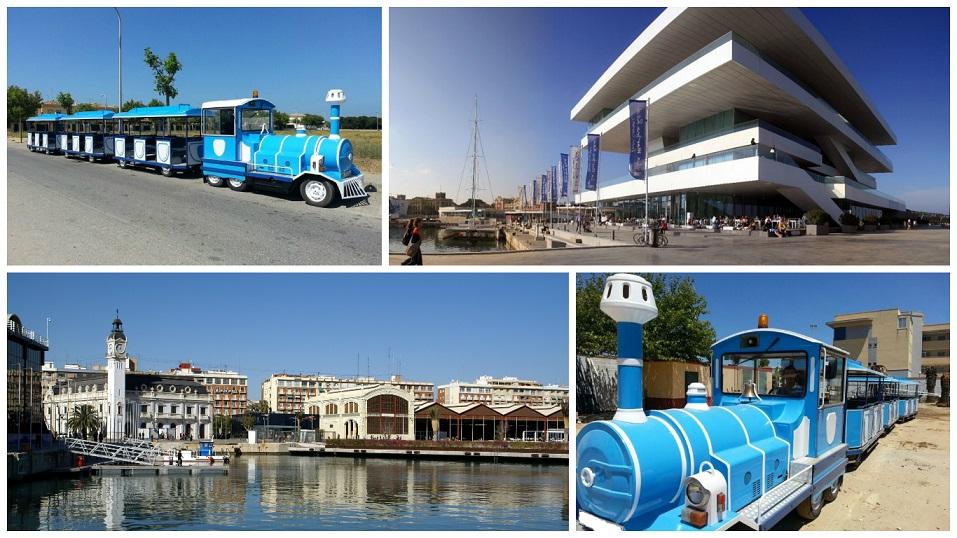 Tren turístico Marina Real Juan Carlos I Valencia