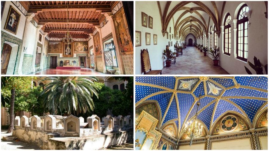 Monestir de Cotalba y Palau de Ducal verano 2018